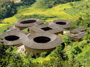 The Hakka Earthen Buildings
