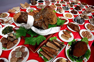 Small-Scale Full Banquet of Man and Han Cuisine